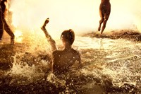 "Ryan McGinley ""Flash Flood (Gold)"", 2012 6"