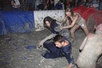 Great American Mud Wrestle LA Lotta Volkova Lily Rose Depp 10