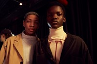 Backstage at Telfar AW19 Dazed Backstage 18