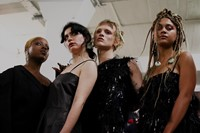 Art School SS20 London Fashion Week Mens Dazed Backstage 10