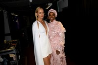 The 2019 Fashion Awards Amber Valletta and Halima Aden 24