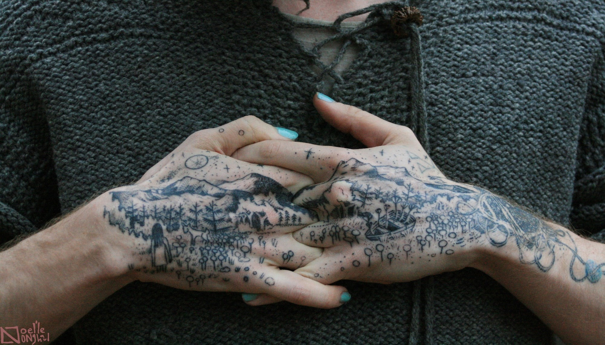 Inside The Mysterious World Of Witch Tattoo Art | Dazed