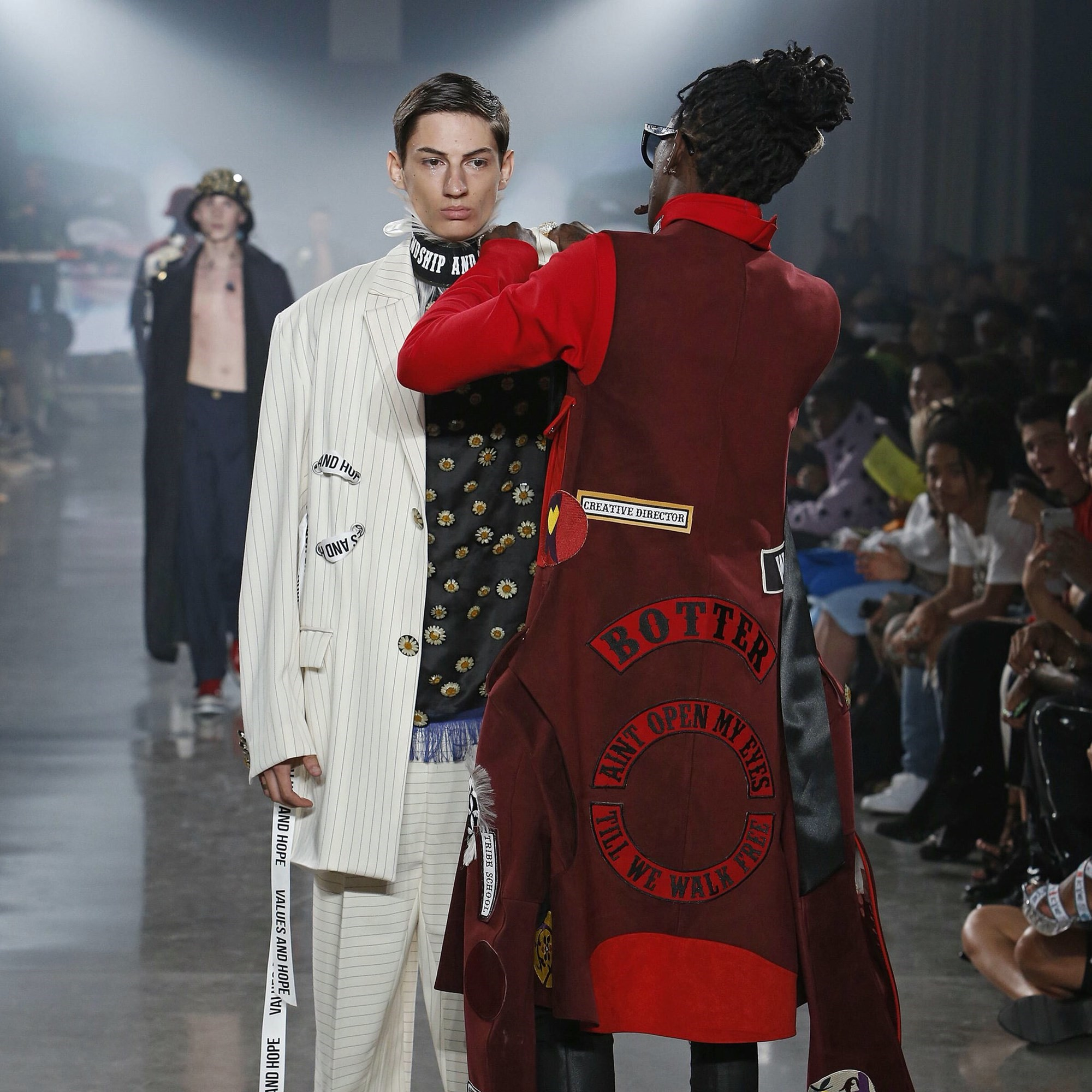 Young Thug Stops A Model Mid Show At New York Fashion Week Womenswear Dazed