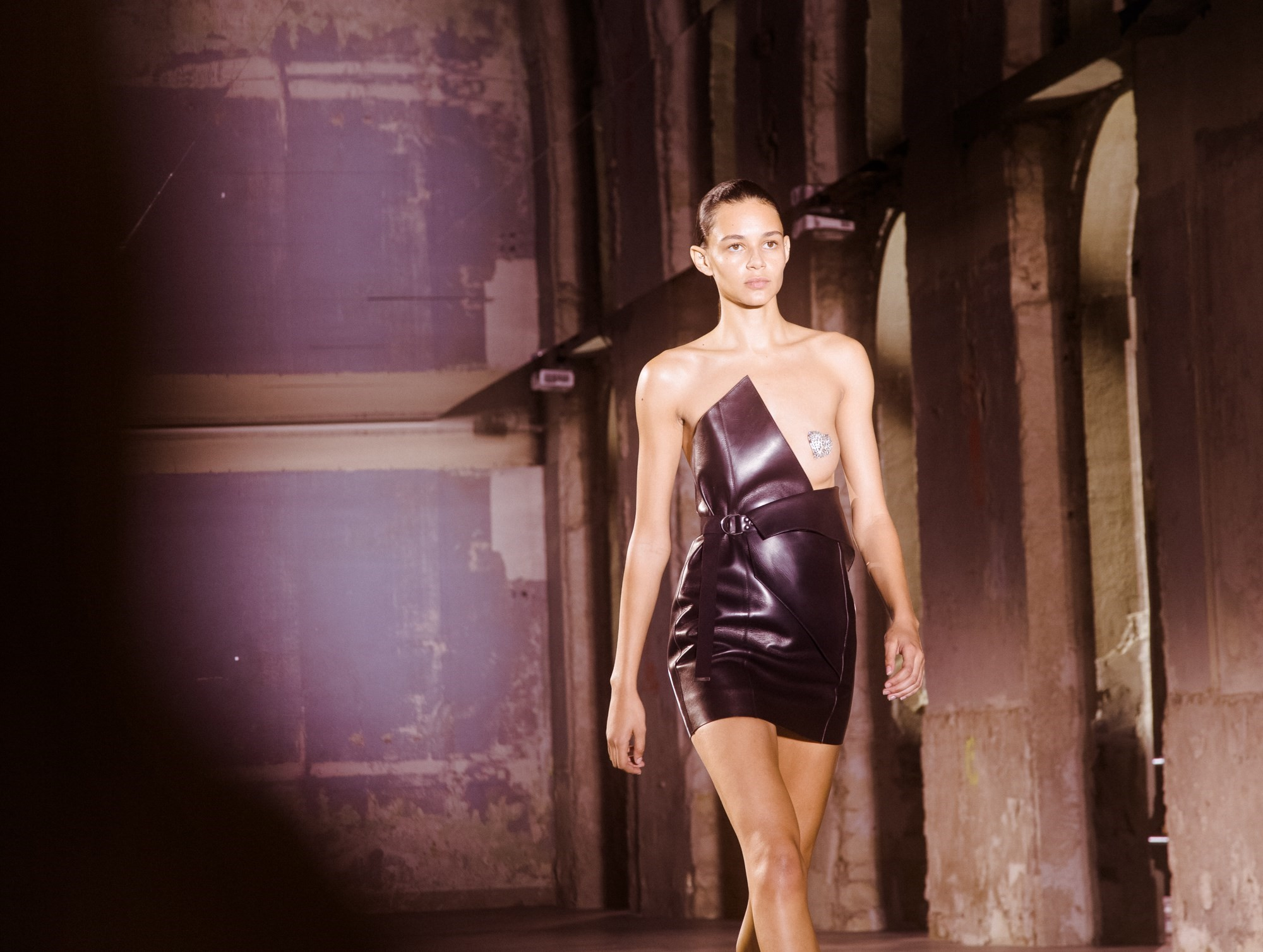 2c5e14b5e5f What went down at Anthony Vaccarello's Saint Laurent debut | Dazed
