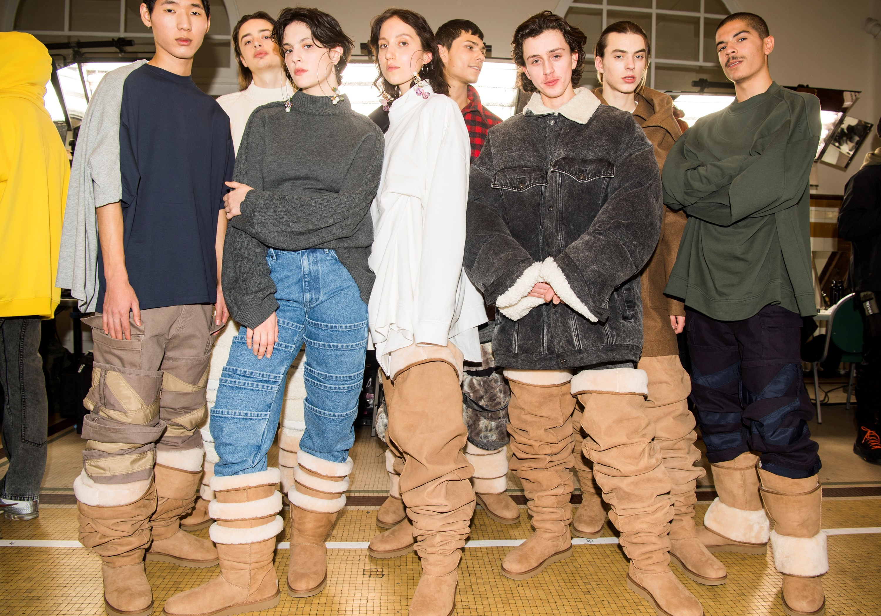 7082c9ccb1d Y Project just put thigh-high Uggs on the runway