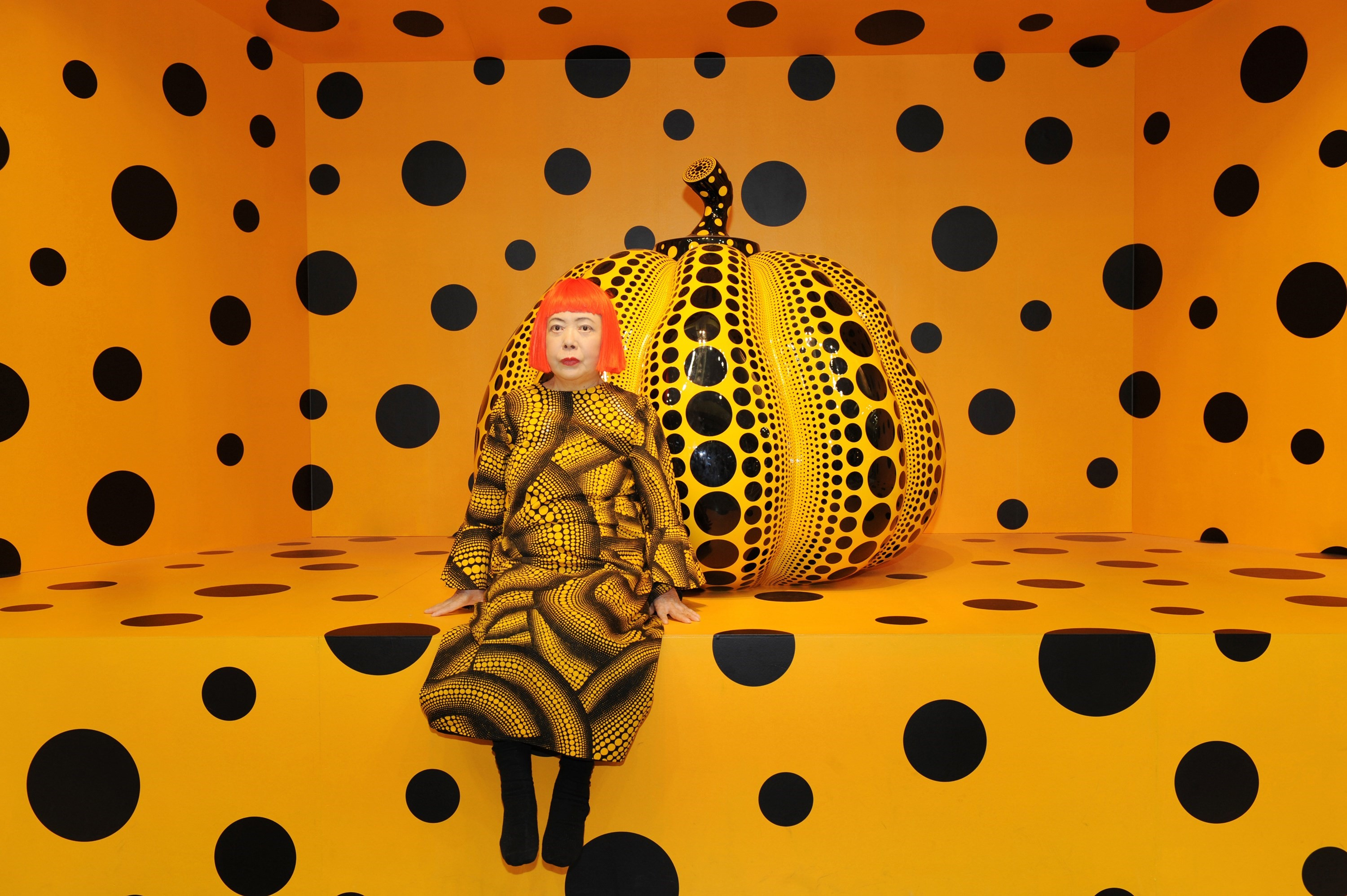 Yayoi Kusama Is Creating Her First Ever Participatory Art Installation Dazed