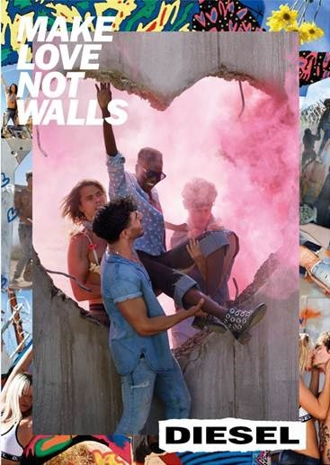 Diesel Make Love Not Walls Campaign
