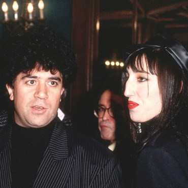 Pedro Almodovar and Rossy-de-Palma in the 90s