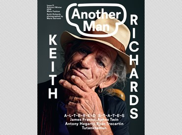 Keith Richards photographed by Mario Sorrenti