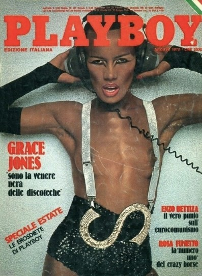 Grace Jones in Playboy