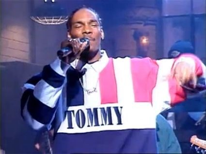 Snoop Dogg wears Tommy Hilfiger on SNL, 1994
