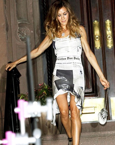 carrie bradshaw in Galliano