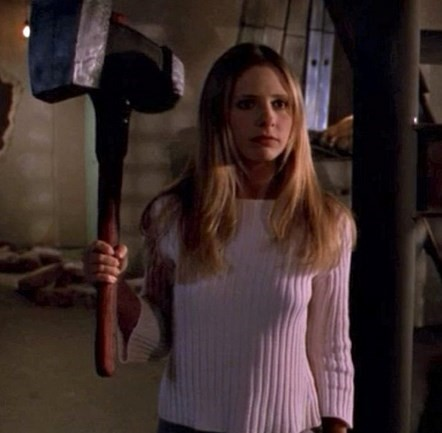 buffy weapon