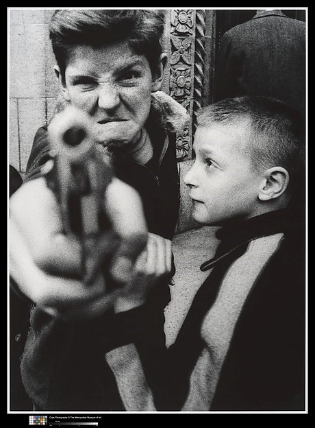 "William Klein, ""Gun 1"", New York"