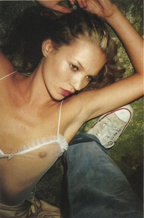 Sorry, that Kate moss topless something