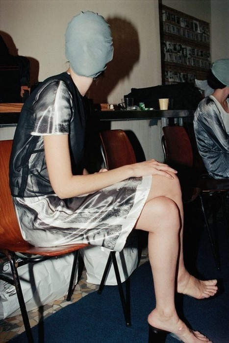 margiela backstage aw95