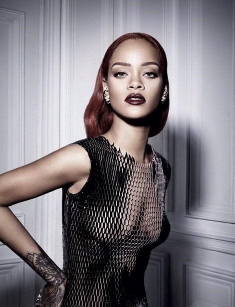 Rihanna for 'Dior' magazine