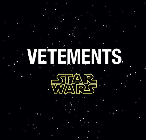 Vetements Star Wars collection