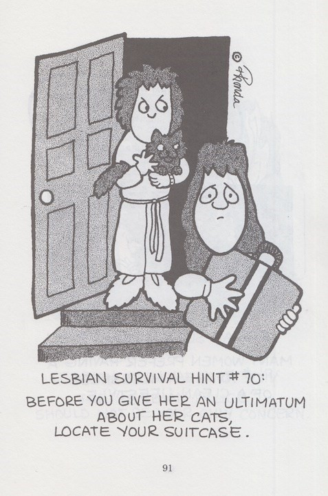 The Wide World of Lesbian Cats