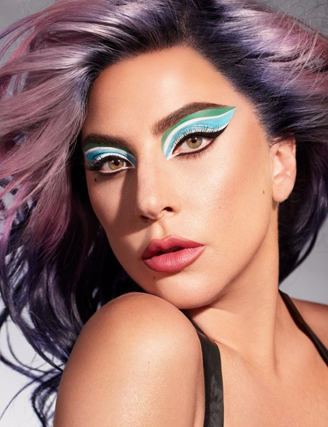 Haus Labs Lady Gaga Sarah Tanno makeup eyeliner rain on me