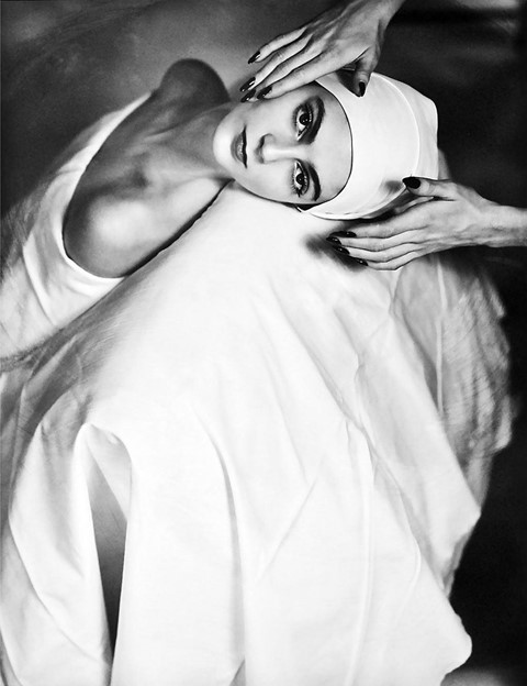 Horst P Horst face massage