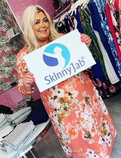 skinnyjab gemma collins weight loss drug injection