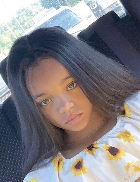 rihanna twin baby girl faceapp instagram