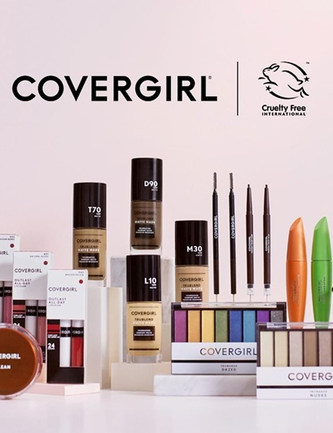 Cover Girl goes cruelty-free