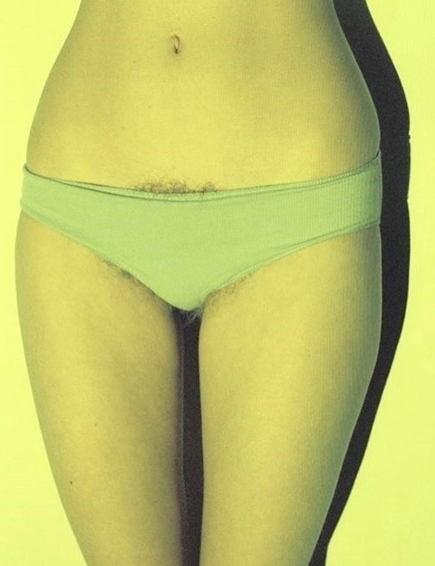 Petra Collins pubic hair