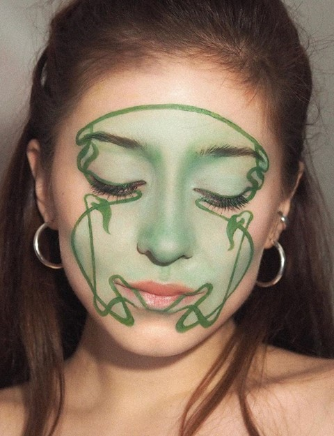 st Patricks day make-up hair looks