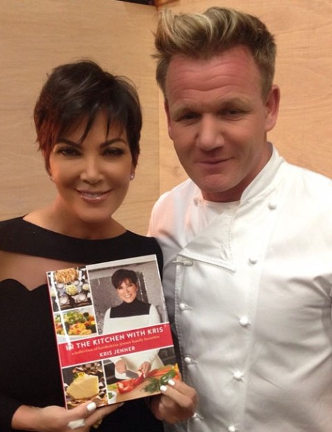 Kris Jenner and Gordon Ransay