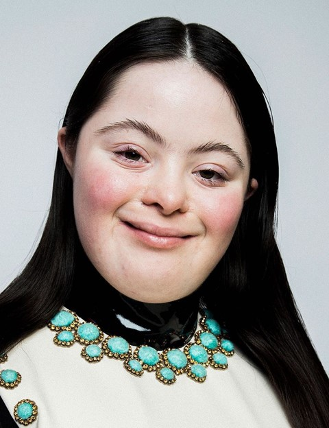 Gucci beauty Ellie Goldstein downs syndrome model