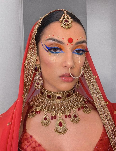 rowi singh makeup artist south asian Indian