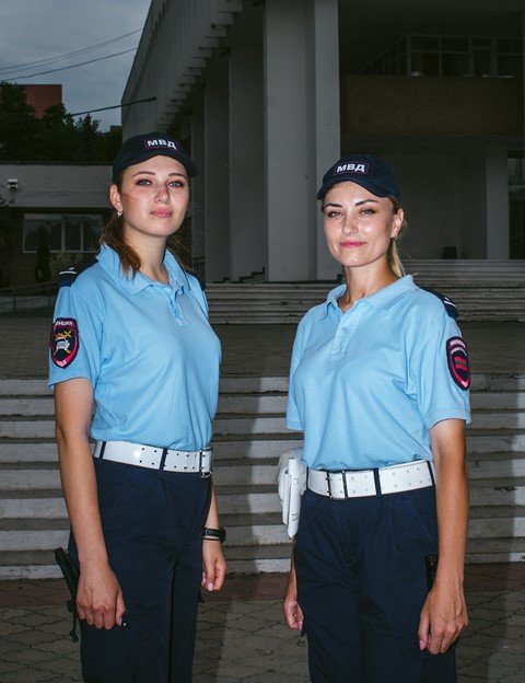 Transnistria women working jobs police bus driver boxer