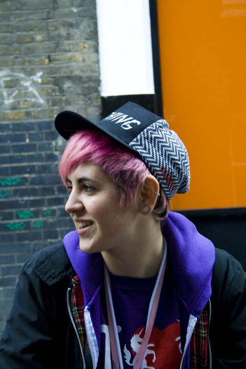 Kate Moross (all photos by Tom Medwell)