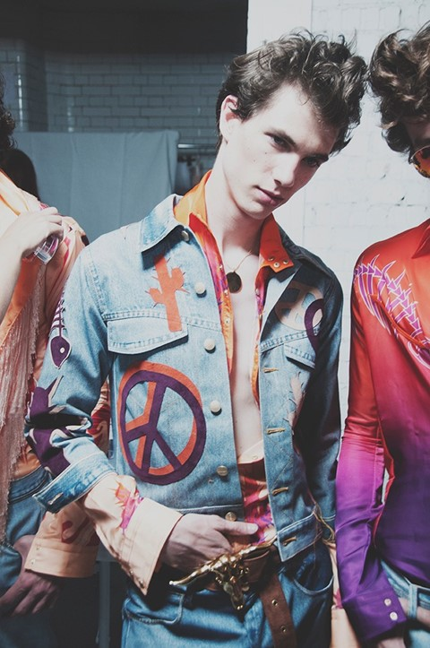 Katie Eary SS15 Dallas Rodeo LC:M Dazed backstage