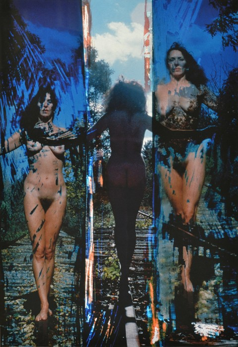 Carolee Schneemann, Nude onTracks 5, 1975-2005, Ar