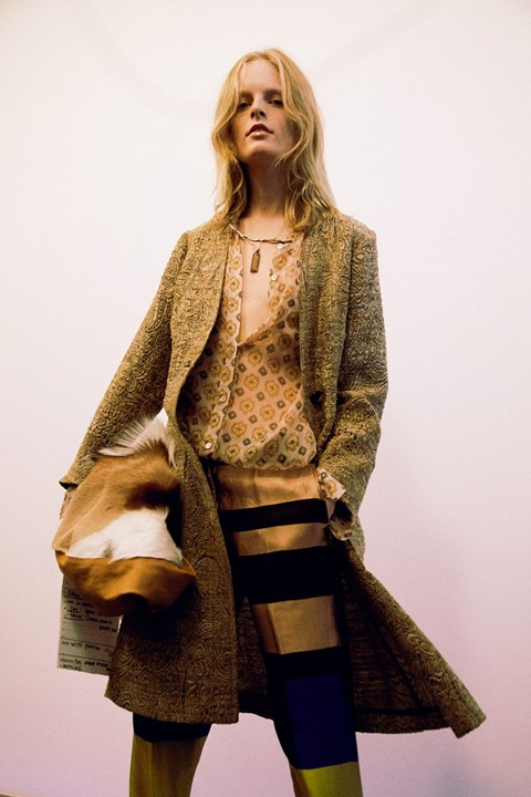 Dries Van Noten SS15, womenswear, Dazed backstage