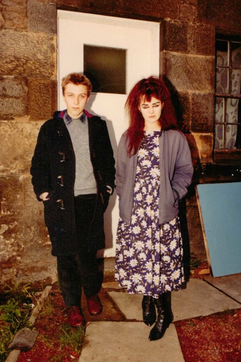 19. Stephen Pastel and Jill Bryson, Glasgow, 1982-