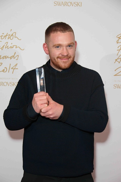 Craig Green winner of Emerging Menswear Designer