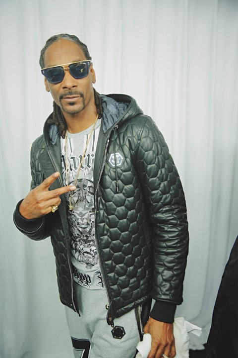 Philipp Plein AW15 Snoop Doggy Dogg Snoop Lion Celebrity