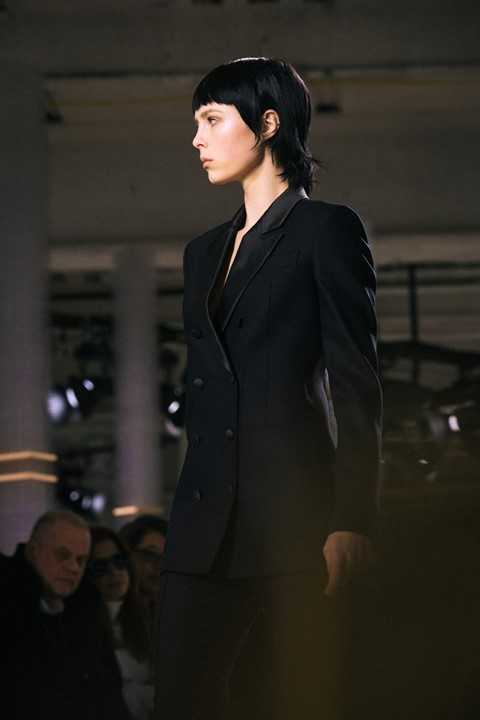 Boss Womenswear AW15 Tailoring Masculine Suit