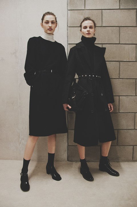 Margaret Howell AW15 Womenswear Turtle Neck Mac Booties