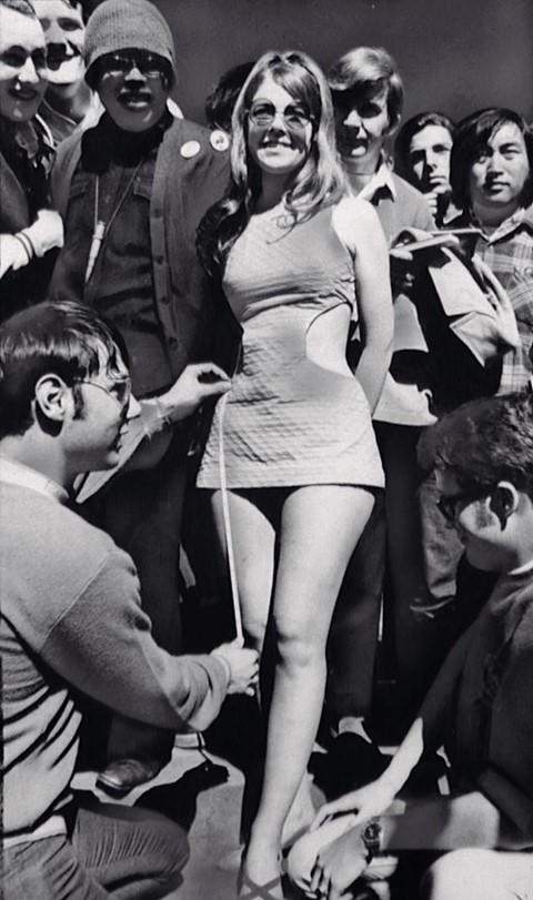 Mini-skirts in the 60s, Dazed Digital