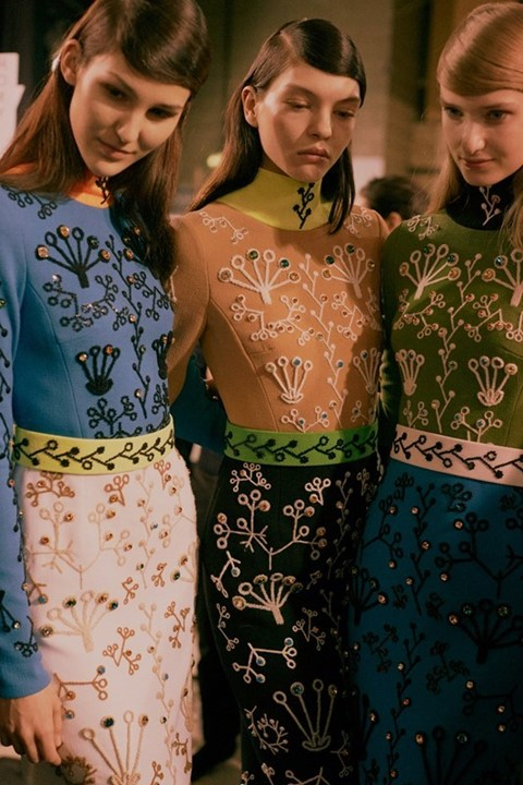 Peter Pilotto AW15, Womenswear, Dazed, London details 60s