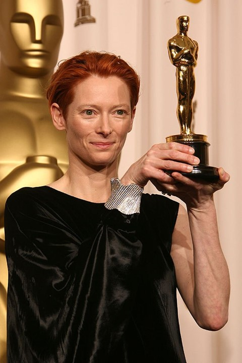 Red carpet rebel girls Tilda Swinton