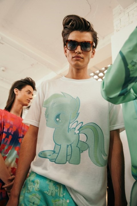 Katie Eary Daisy Walker LCM menswear My Little Pony