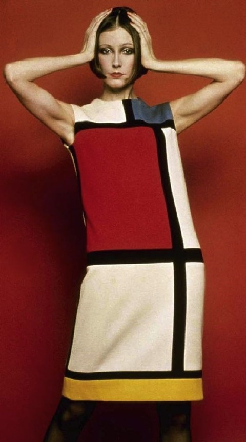 YSL Mondrian day dress, 1965