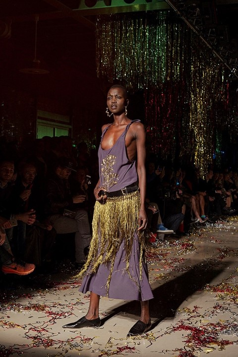 Nykhor Paul for Vivienne Westwood Gold Label AW15