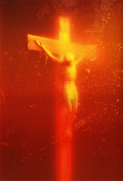 "Andres Serrano's ""Piss Christ"""